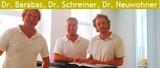 Drs. Stephan Neuwohner, Alexander Schreiner, Christoph Barabas