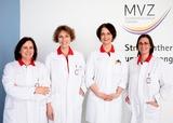 Zentrum für Strahlentherapie und Humangenetik: Dr. Dr. Patrizia Marini, Dr. Esther Herrmann, Dr. Elke Scherer, Dott. Mag. Mariangela Caimi