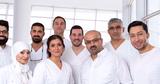 Dr. R. Boulaaouin, Dr. I. Derin, Dr. Christian Nicola, Dr. M. Amro, Herr E. Derin, Herr S. Ahmadi, Herr H. Jazbeh, Frau K. Amakran, Herr S. Philipp
